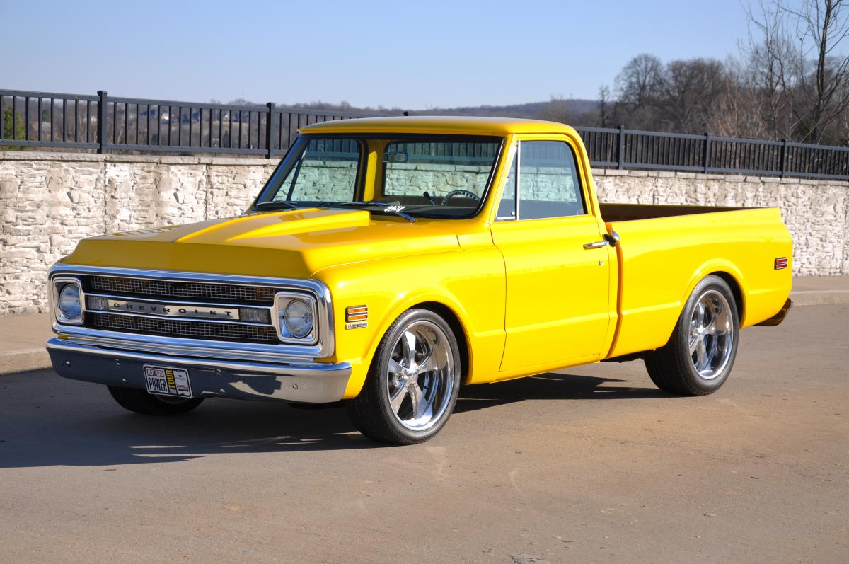 1970 Chevy C10 Stepside - A Wolf In Sheep's Clothing ...