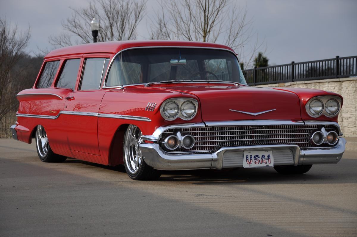 1958 Chevrolet Yeoman Wagon 1968 Impala 2 Door