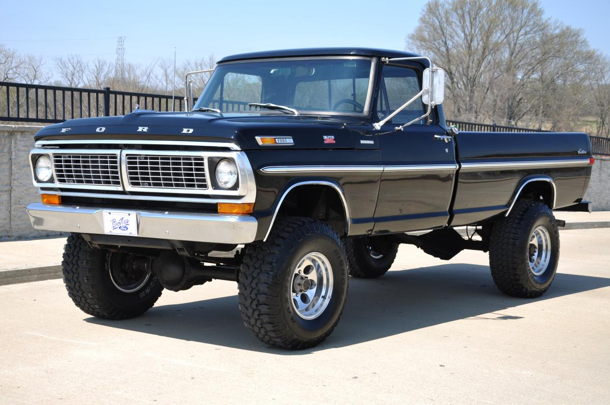 Craigslist Orange Cars And Trucks >> 1970 F250 Highboy 4x4 For Sale On Craigslist | Autos Weblog