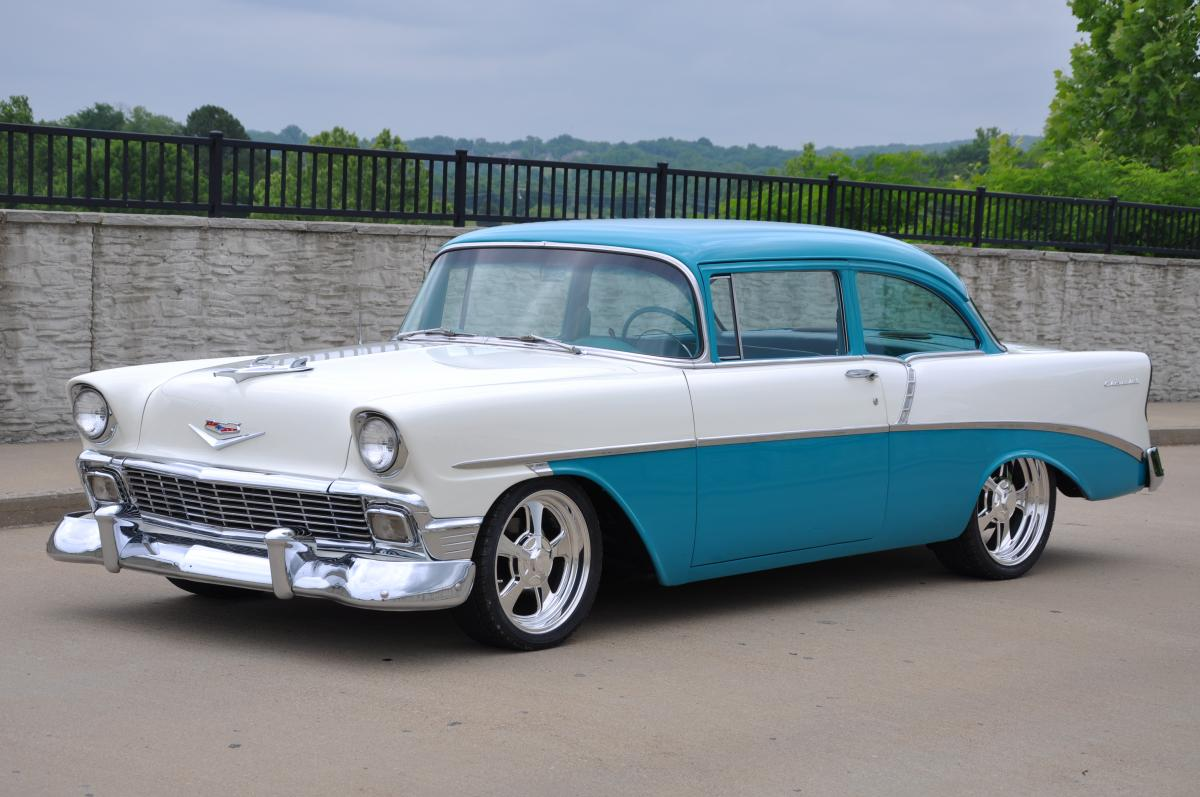 1956 Chevrolet 210 Del Ray Club Coupe Sold 1964 Chevy Truck Paint Colors
