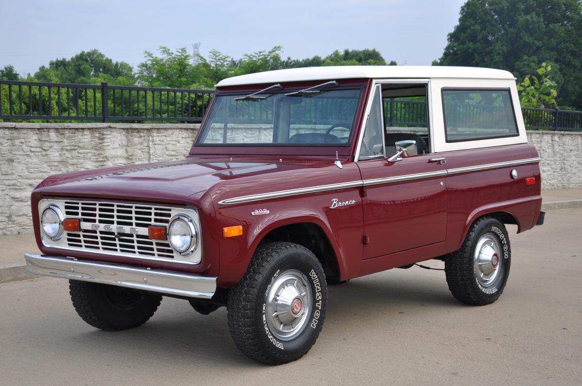 1972 Ford Bronco 4x4 Wagon