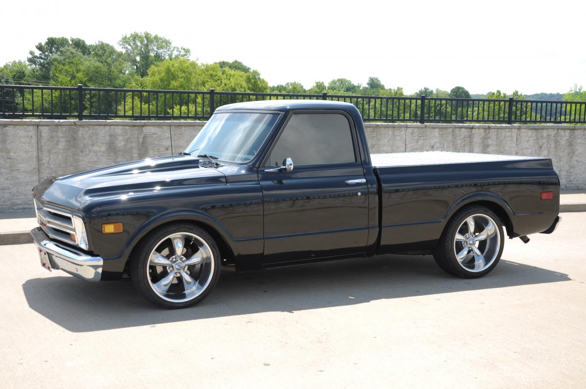 1968 Chevy Shortbed Pickup Truck Sold
