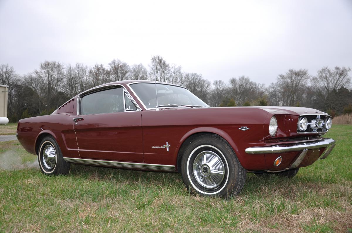 1965 ford mustang fastback sold. Black Bedroom Furniture Sets. Home Design Ideas