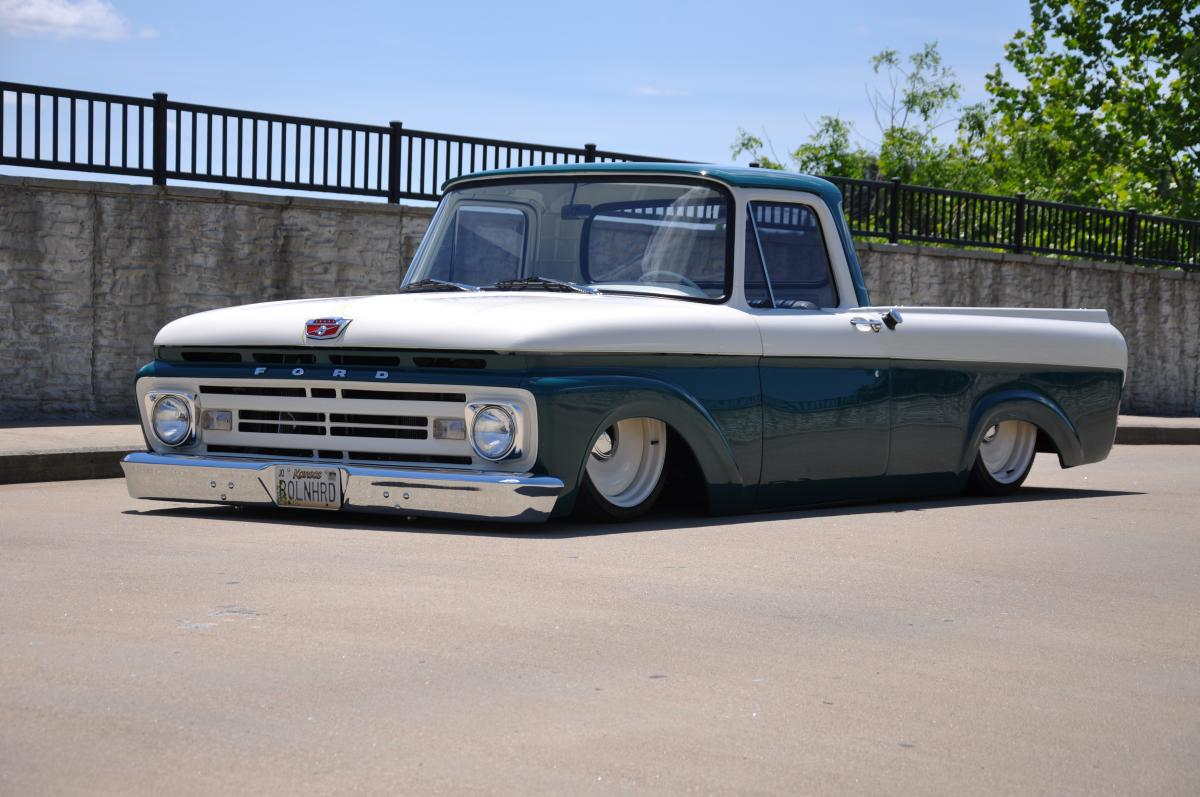 1962 ford f 100 unibody pickup sold