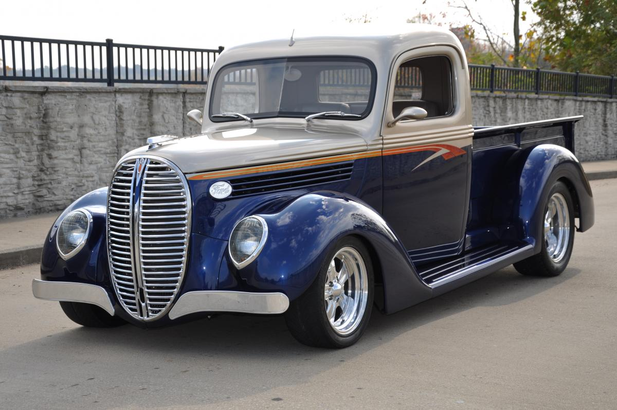 1938 Ford Truck >> 1938 Ford Pickup