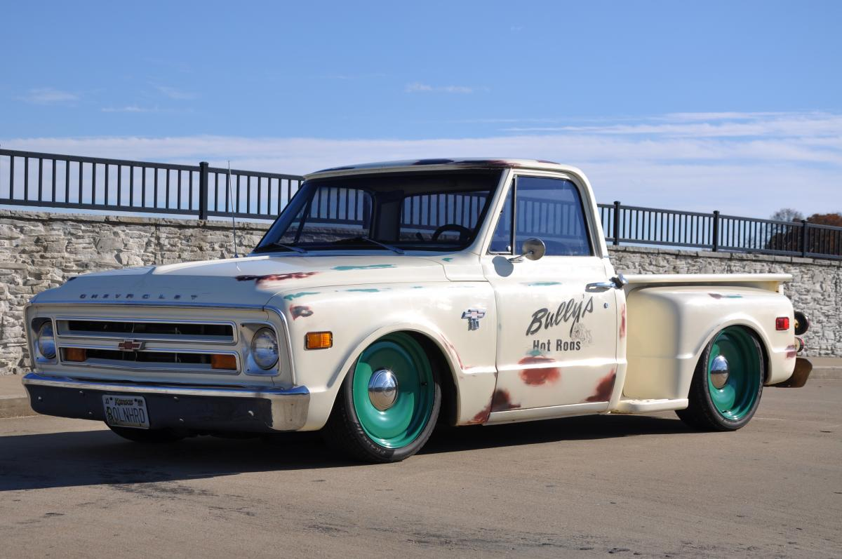 1968 Chevy C 10 Shop Truck C10 Stepside