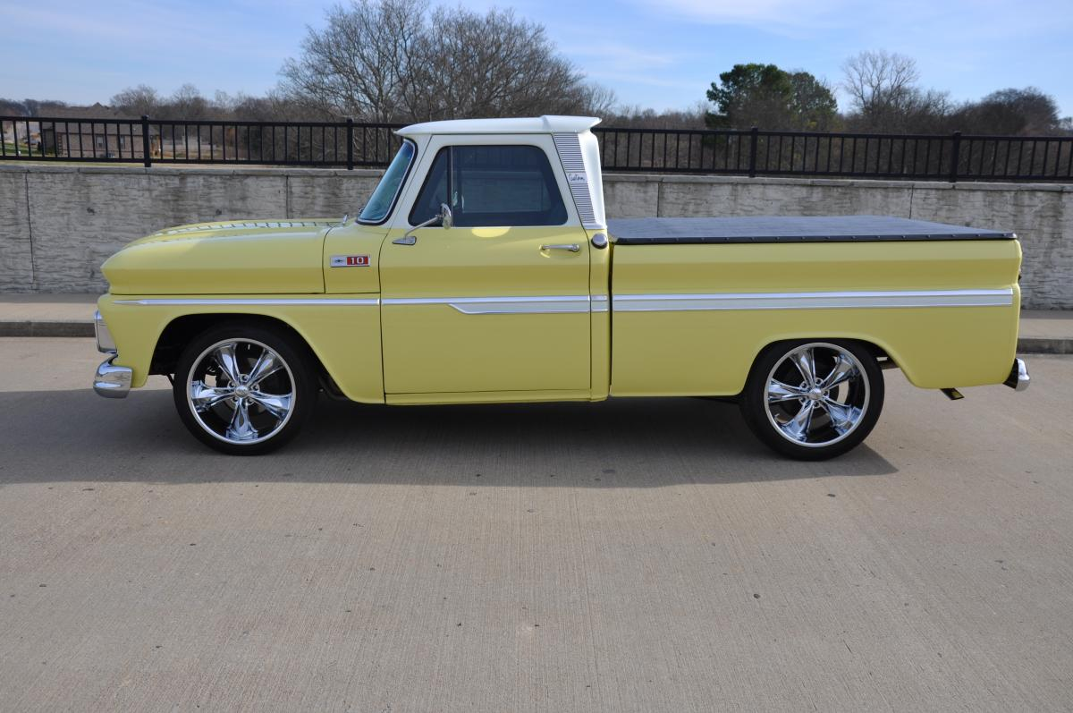 chevy 350 ignition system with 1965 Chevrolet Short Bed Street Rod Pickup on 1965 Chevrolet Short Bed Street Rod Pickup in addition 1985 Chevy Silverado 1 moreover Watch additionally 1401 How To Swap In A Carb Equipped Ls Engine further 1955 CHEVROLET BEL AIR CUSTOM 2 DOOR HARDTOP 49211.