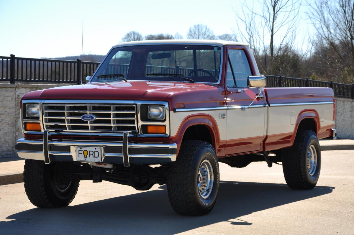 1985 ford f150 4x4 30000 actual miles sold