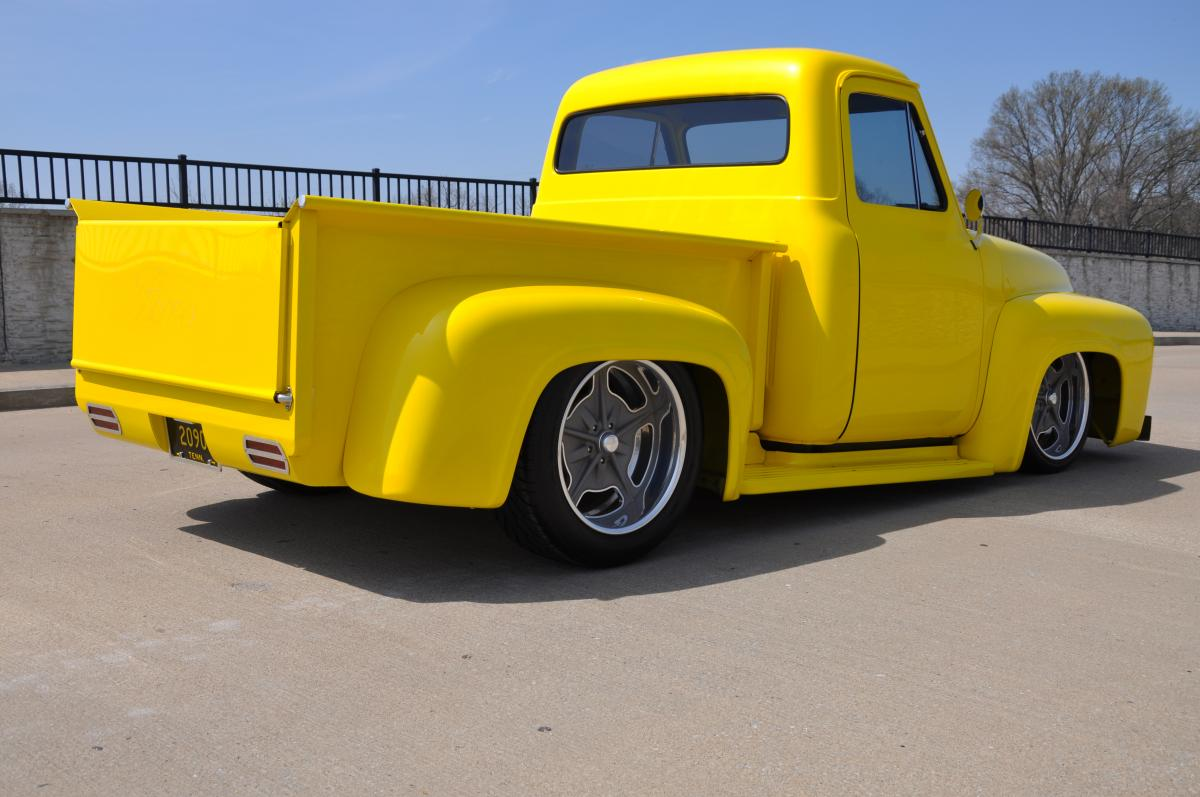 1953 1955 Ford F100 On 20 Inch Wheels Sold