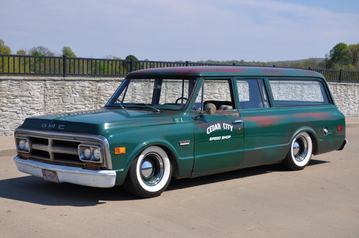 1969 Gmc Suburban 1968 Chevy 4x4