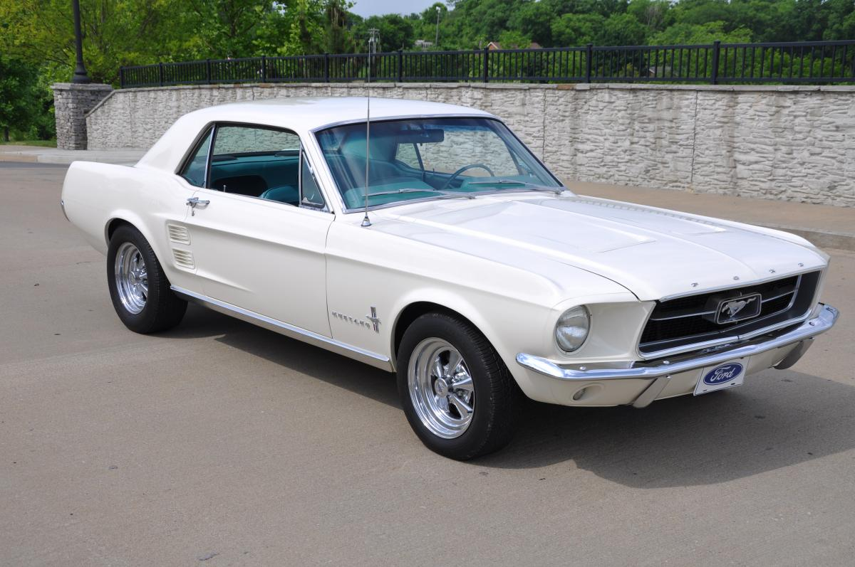 1967 Ford Mustang Coupe Sold