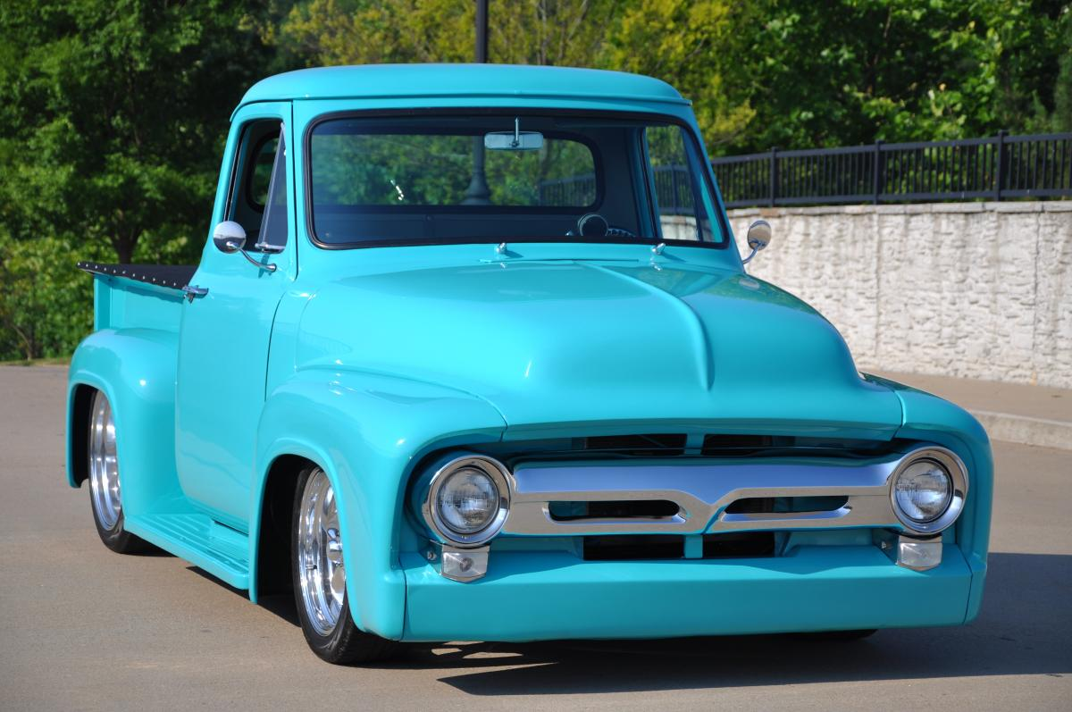 1955 Ford F100 Street Rod Truck Rat Trucks