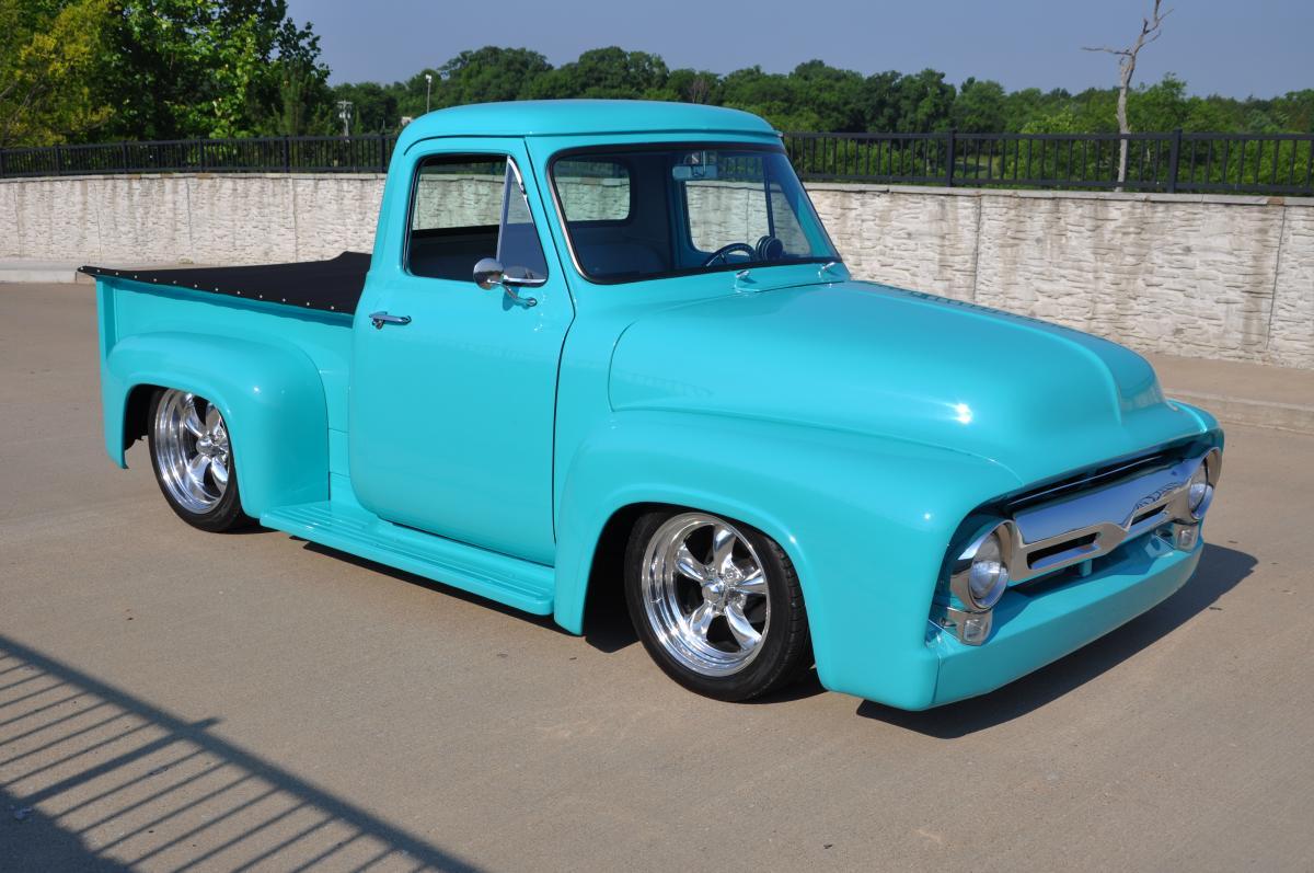 1955 Ford F100 Street Rod Truck Hood