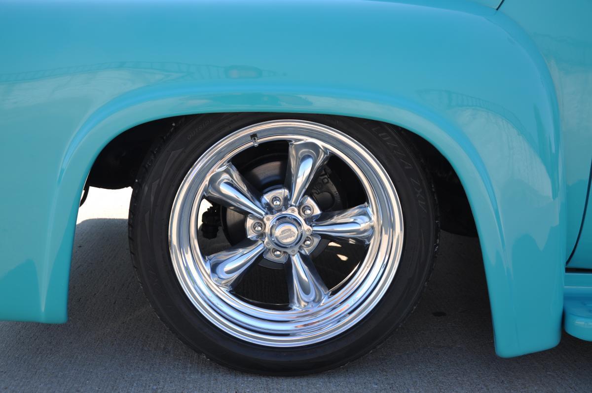 1955 Ford F100 Street Rod Truck Steering Wheel Black