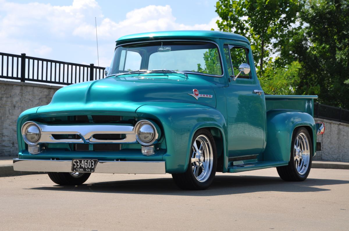 Craigslist Ford F100 For Sale >> 1956 Ford F100 Street Rod Pickup