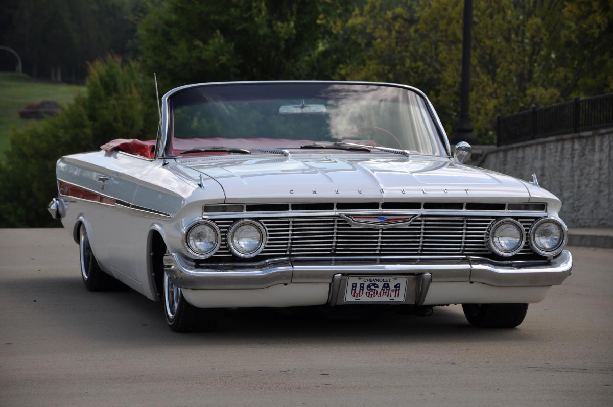1961 Chevrolet Impala Convertible Chevy Lowrider
