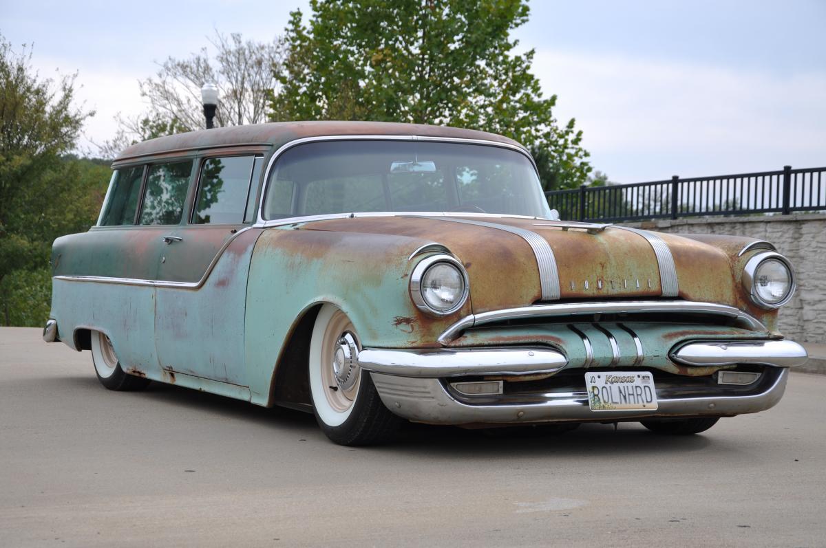 1955 Pontiac Chieftain 2 door