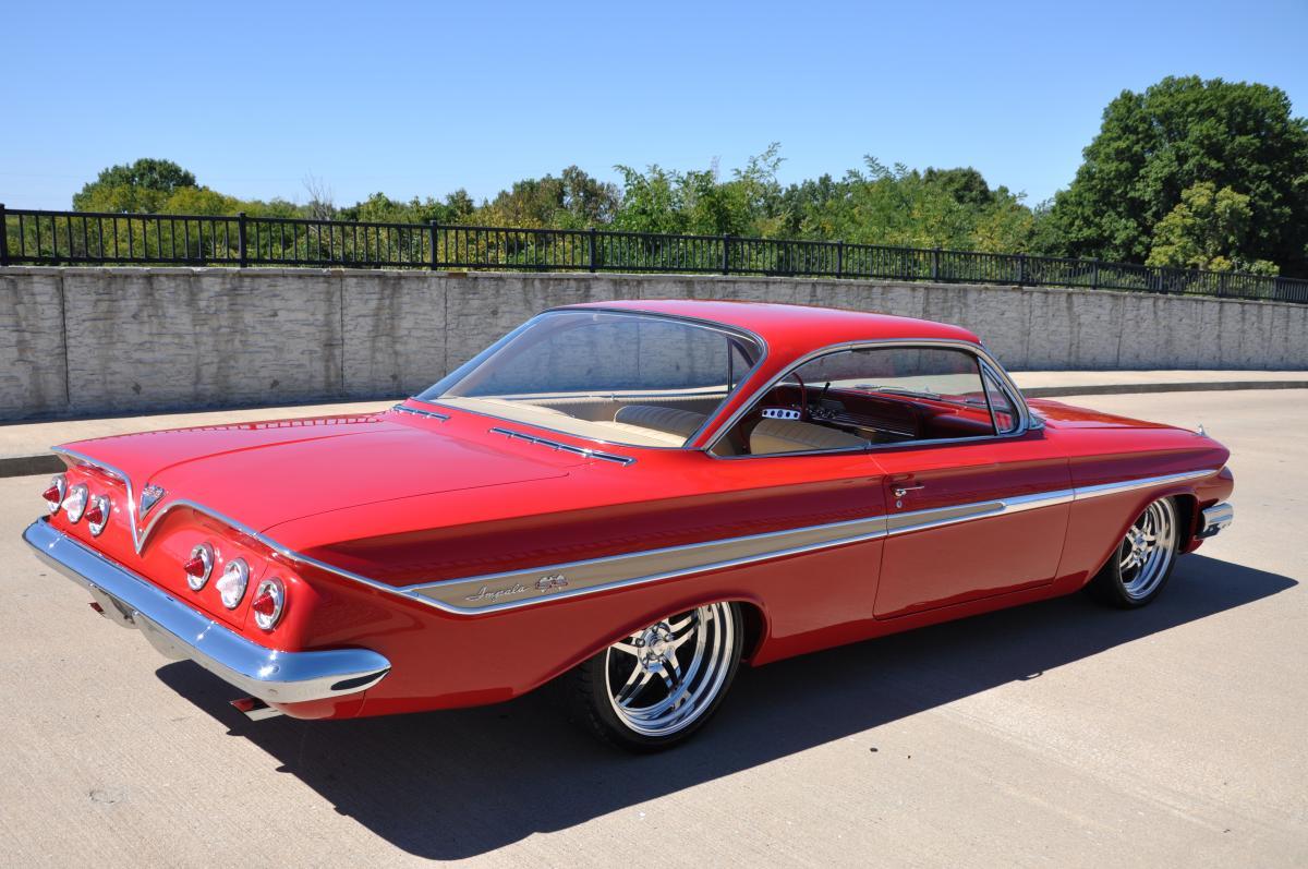 1961 Chevrolet Impala Bubbletop Chevy Ss