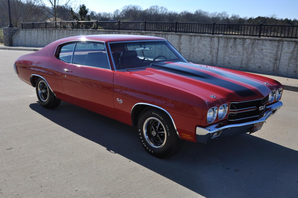 In this 1970 chevelle ss 454 ls 5 car this chevelle has underwent a