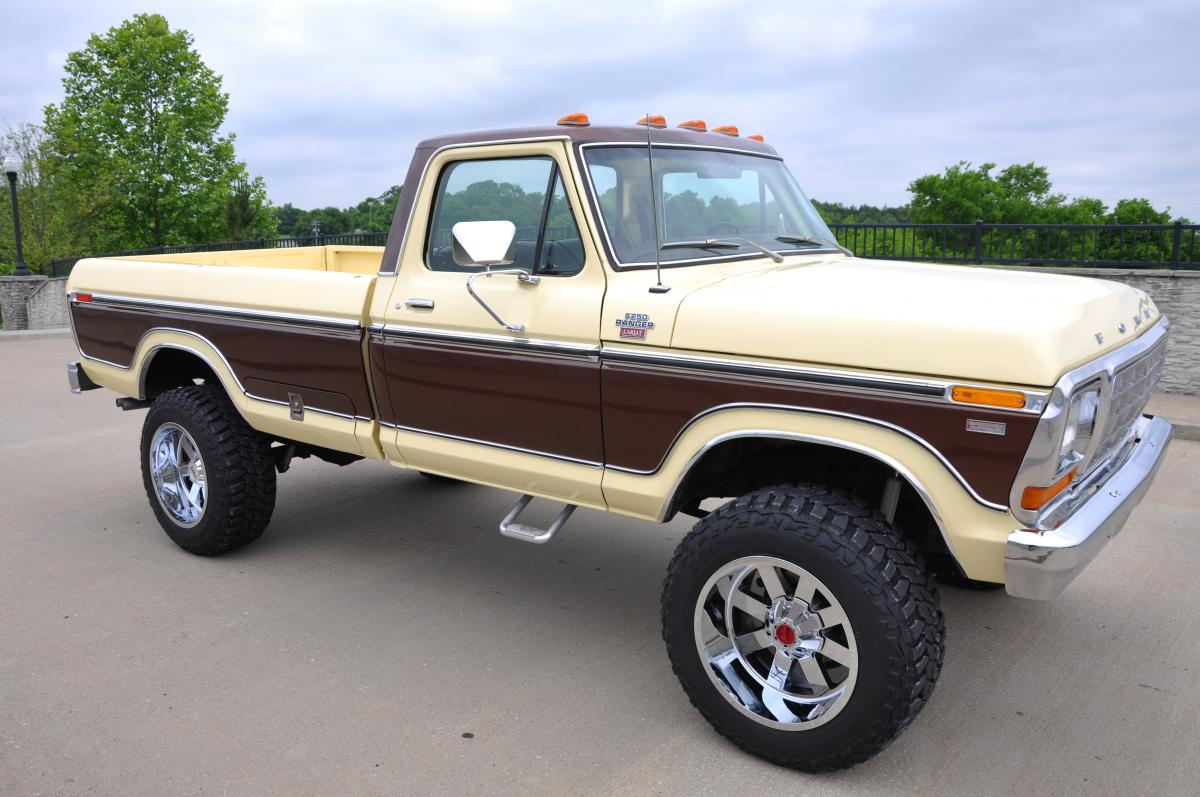 1961 Ford F250 4x4 For Sale | Autos Post