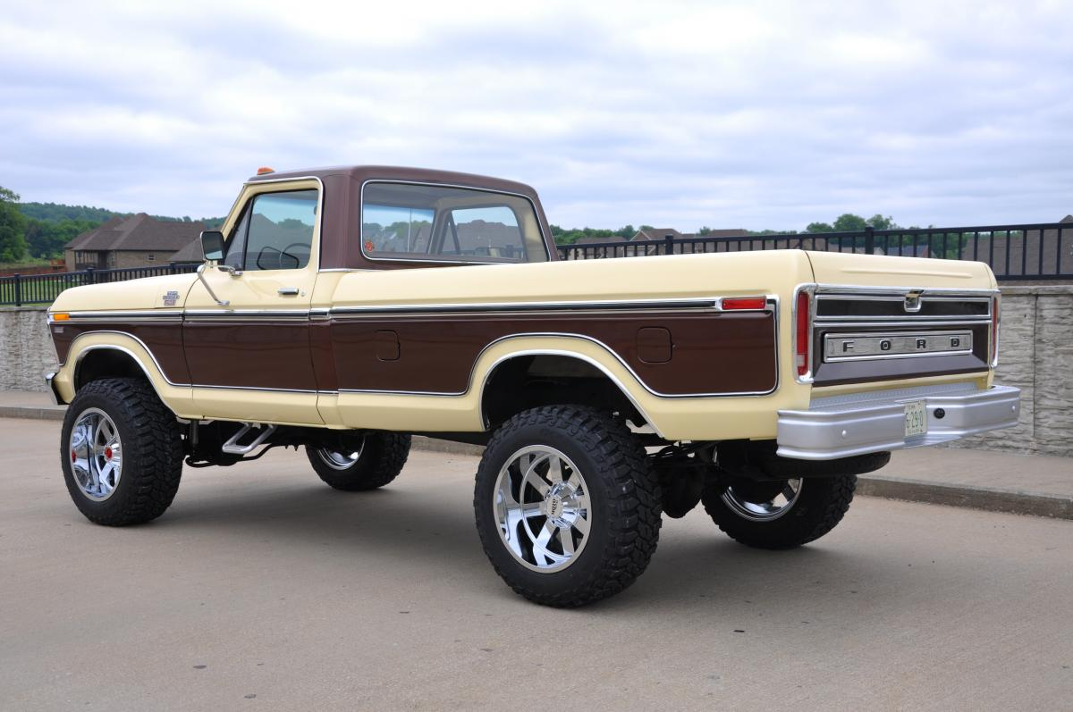 1978 F250 Ford 1971 Highboy 4x4 Lariat Sold
