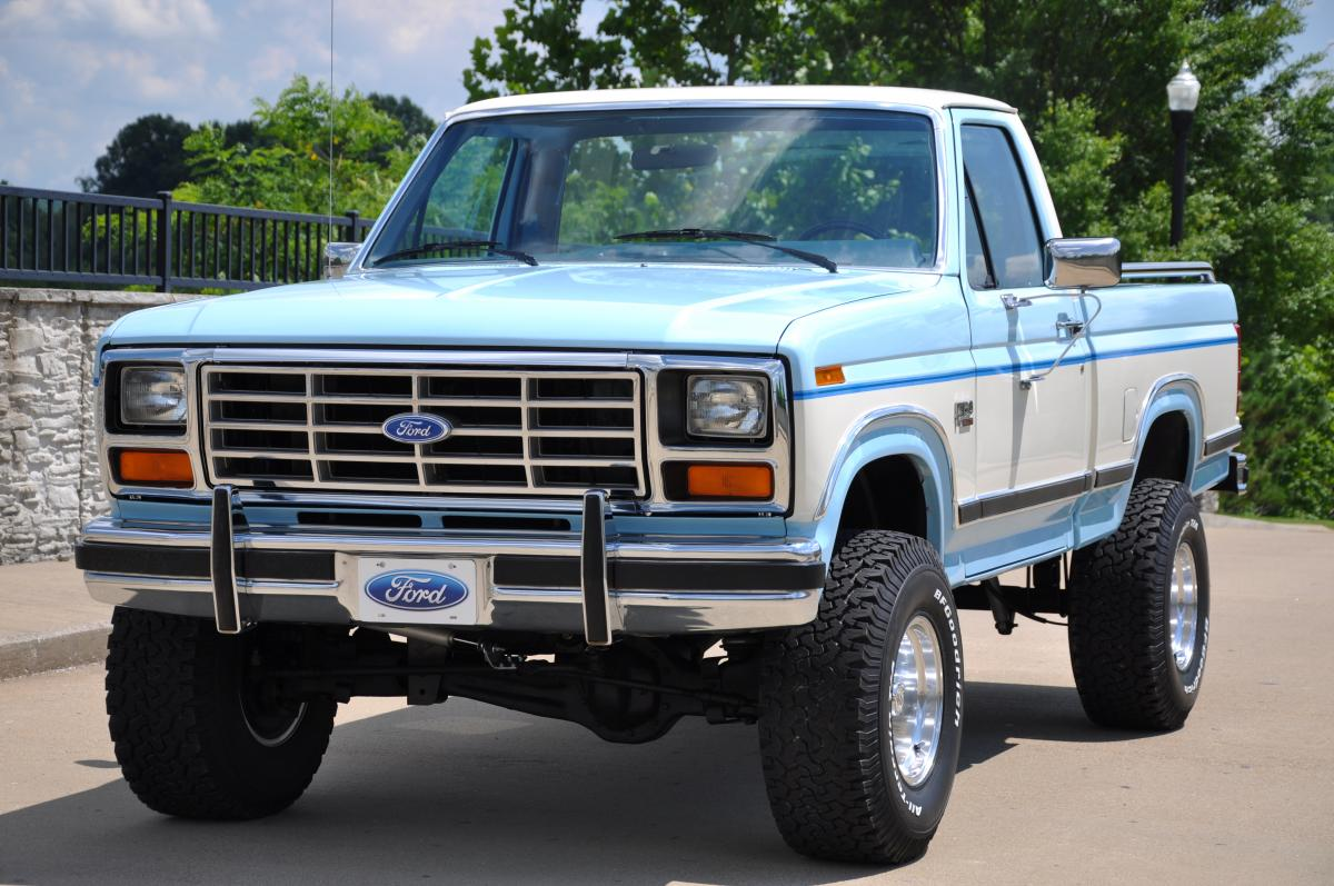 Ford F 150 Lifted >> 1986 Ford F 150 Lariat XLT 4x4