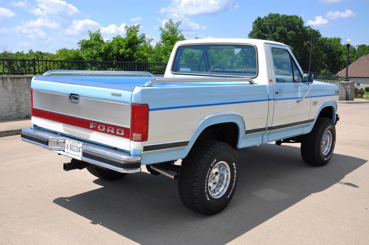 1986 ford f 150 lariat xlt 4x4