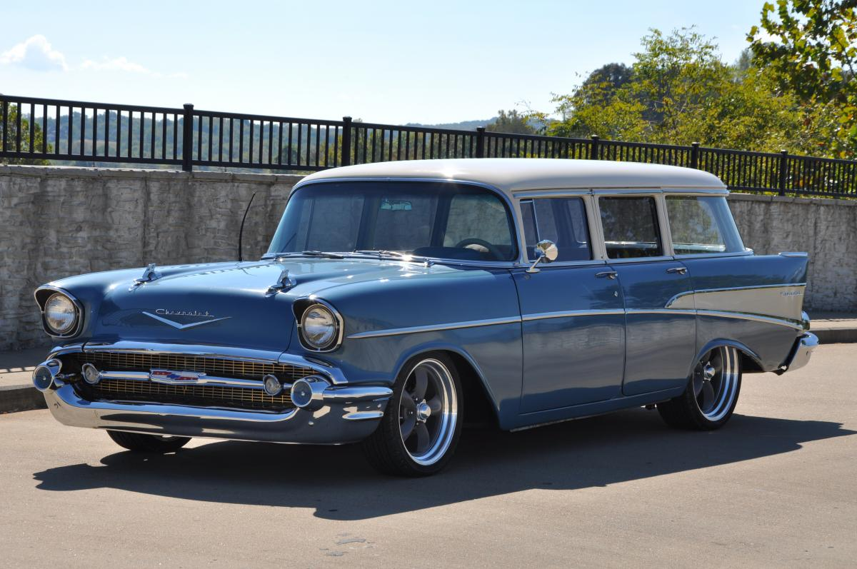 1957 Chevrolet 210 Station Wagon Save Our Oceans Chevy