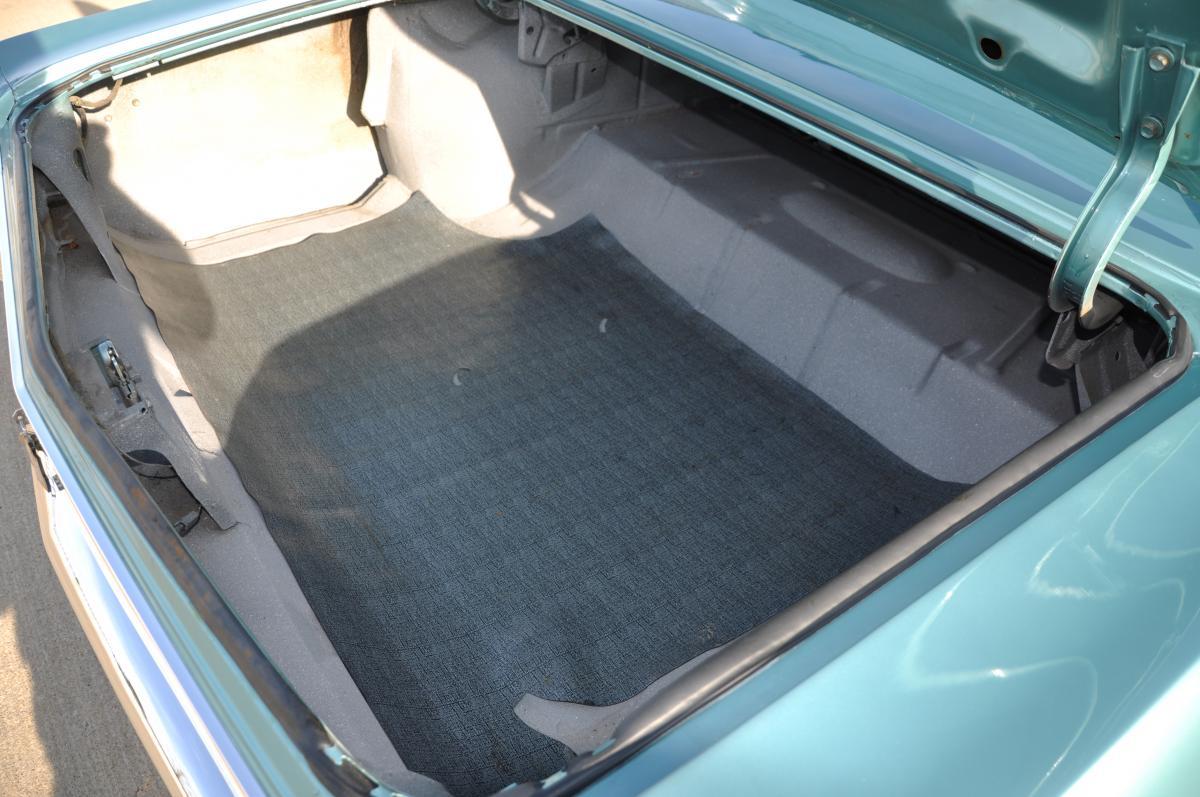 67 Chevelle Trunk Carpet Herringbone Mat Dodge Dart Large