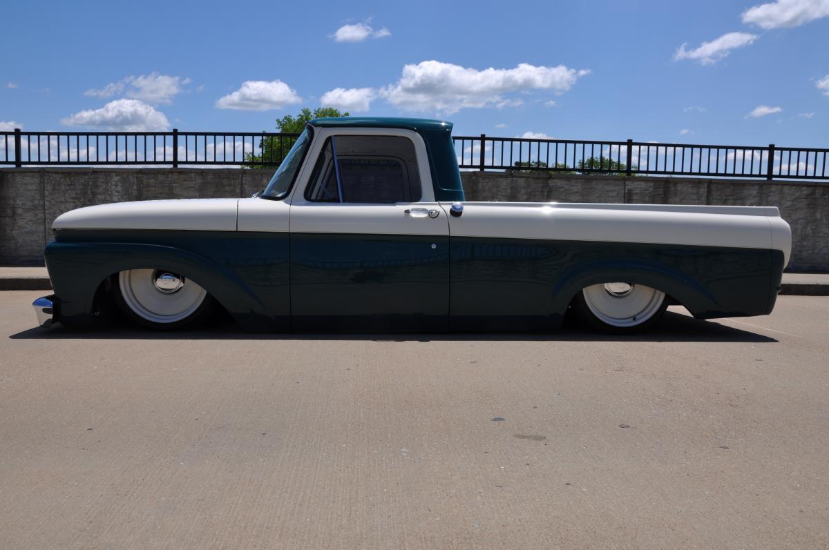 1962 ford f100 ifs