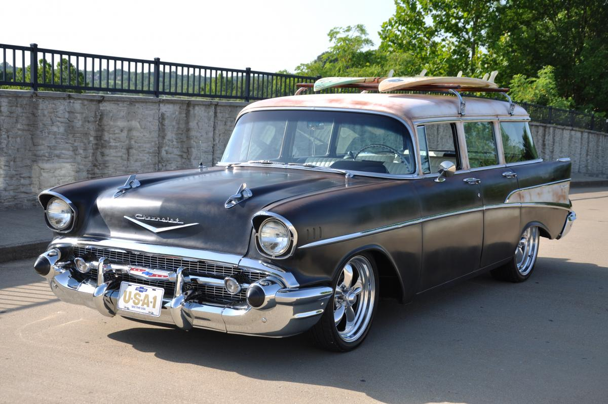 1957 Chevrolet 210 Wagon Chevy Truck 4x4 For Sale