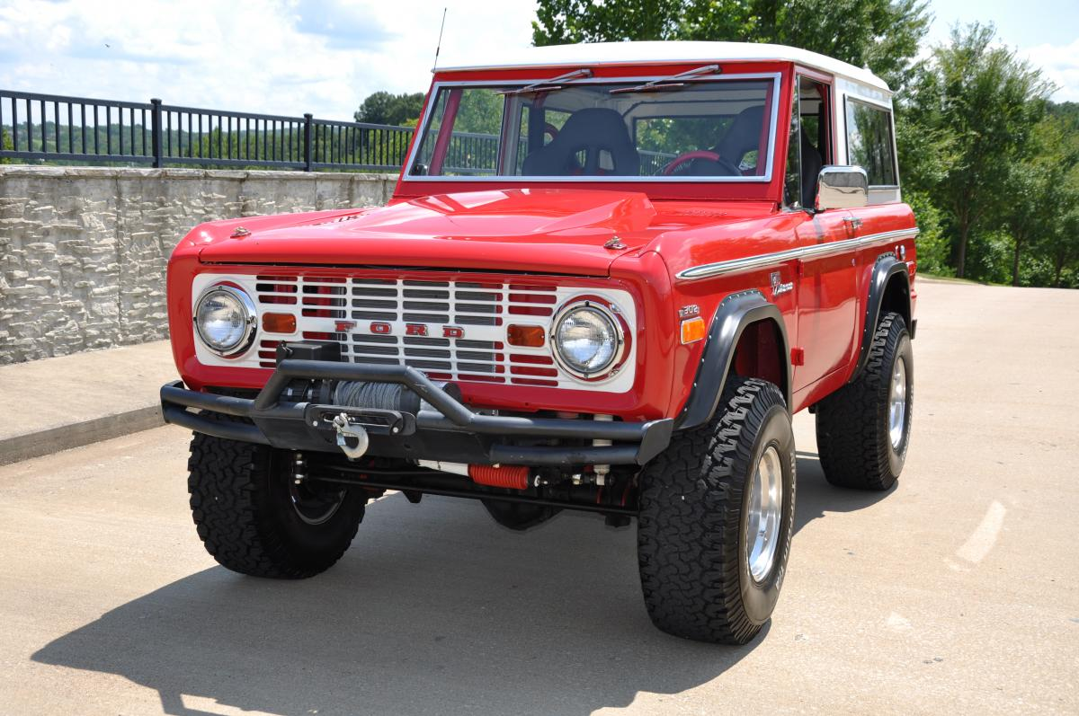 1971 Ford 4x4 Highboy Bronco 1200x797