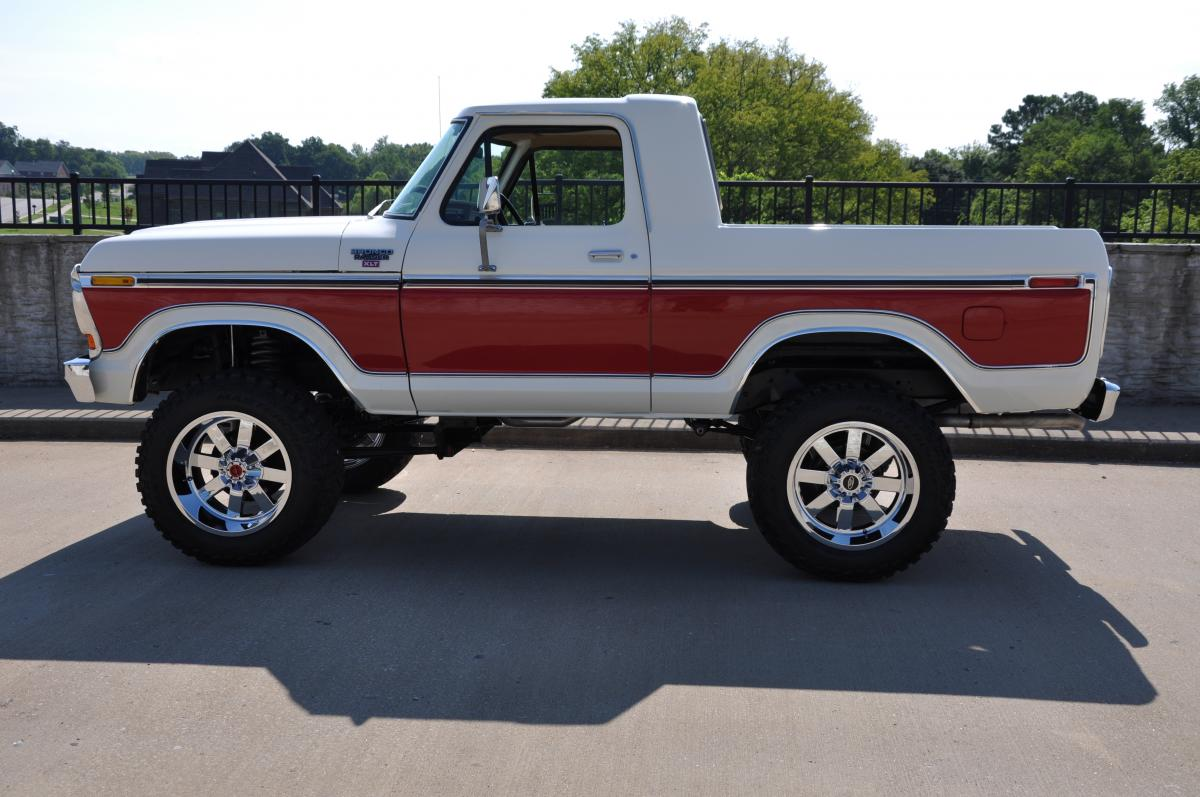 1978 Ford Bronco Xlt Custom