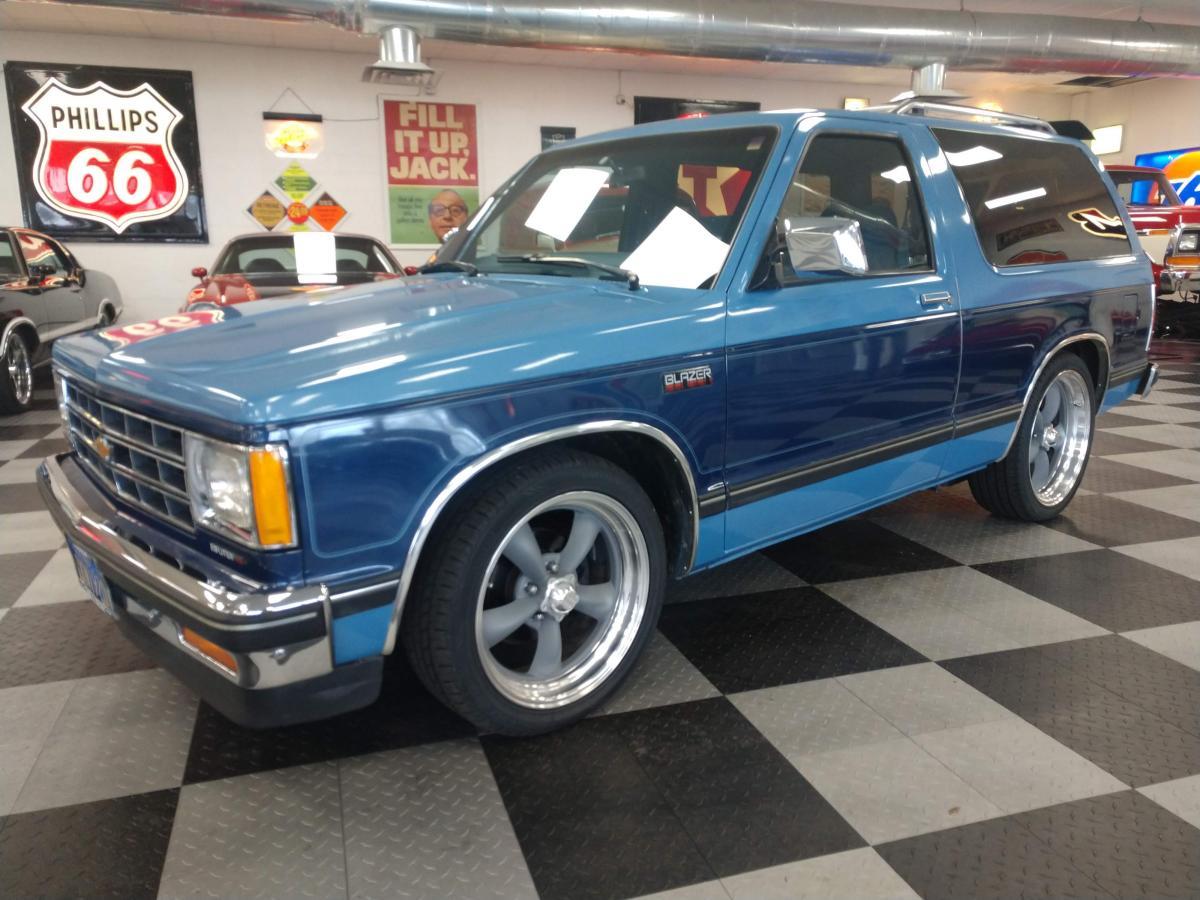 1985 Chevrolet S 10 Blazer Tahoe